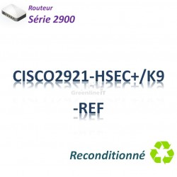 Cisco 2900 Refurbished Routeur 3x 1GBase-T_1SFP_Security