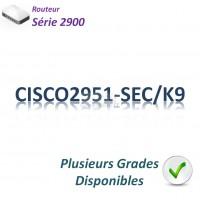 Cisco 2900 Routeur 3x 1GBase-T_1SFP_Security