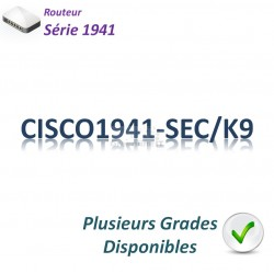 Cisco 1941 Routeur 2x 1GBase-T_Security