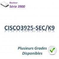Cisco 3900 Routeur 3x 1GBase-T_2SFP_Security