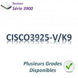 Cisco 3900 Routeur 3x 1GBase-T_2SFP_Unified Communications