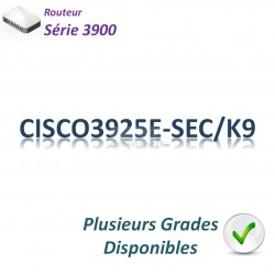 Cisco 3900 Routeur 4x 1GBase-T_2SFP_Security