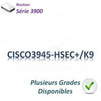 Cisco 3900 Routeur 3x 1GBase-T_2SFP_IP