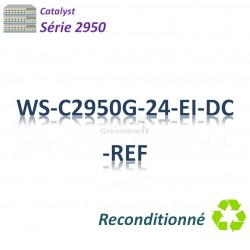 Catalyst 2950 Refurbished Switch 24x 10/100_2SFP_DC_EI