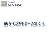 Catalyst 2960 Switch 24x10/100_2SFPcombo_ PoE(123w)_LAN Base