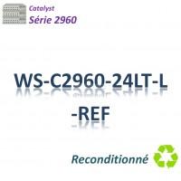 Catalyst 2960 Refurbished Switch 24x10/100_2x 1GBaseT_ PoE(123w)_LAN Base