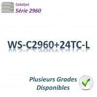 Catalyst 2960 Switch 24x10/100_2SFPcombo_LAN Base
