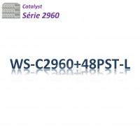 Catalyst 2960 Switch 48x10/100_2SFPcombo _PoE(370w) _LAN Base
