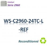 Catalyst 2960 Refurbished Switch 24x10/100_2SFPcombo_LAN Base