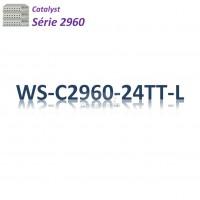 Catalyst 2960 Switch 24x10/100_2x 1GBaseT_LAN Base
