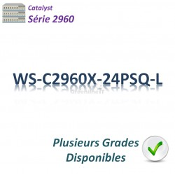Catalyst 2960 Switch 24G_2SFPcombo_3PoE+(110w)_LAN Base