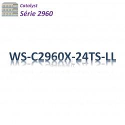 Catalyst 2960 Switch 24G_2SFP_LAN Lite
