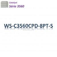 Catalyst 3560 Switch 8G_2SFP_PoE(23,8w)_IP Base