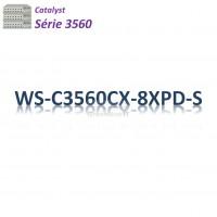 Catalyst 3560 Switch 6G_2MultiGb_2SFP+_PoE+(240w)_IP Base