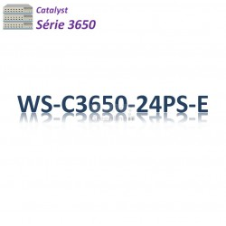 Catalyst 3650 Switch 24G_4SFP_PoE+(390w)_IP Services