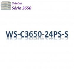 Catalyst 3650 Switch 24G_4SFP_PoE+(390w)_IP Base