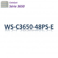 Catalyst 3650 Switch 48G_4SFP_PoE+(390w)_IP Services