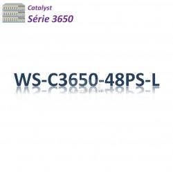 Catalyst 3650 Switch 48G_4SFP_PoE+(390w)_LAN Base