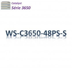 Catalyst 3650 Switch 48G_4SFP_PoE+(390w)_IP Base
