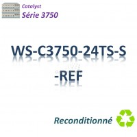 Catalyst 3750 Refurbished Switch 24x 10/100_2SFP_IP Base