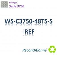 Catalyst 3750 Refurbished Switch 48x 10/100_4SFP_IP Base