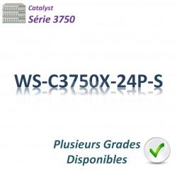 Catalyst 3750 Switch 24G_PoE+(435w)_IP Base