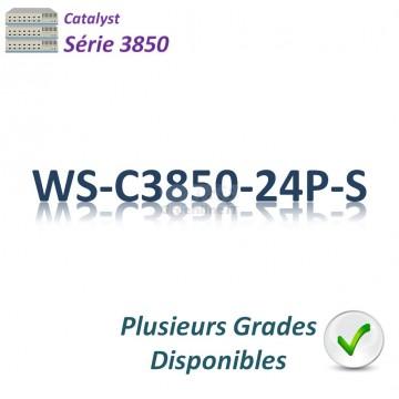 Switch 3850_24 ports GE_1Slot_24PoE+ 435w_IP Base