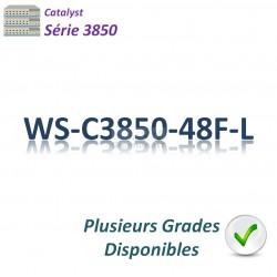 Catalyst 3850 Switch 48G_PoE+(800w)_LAN Base