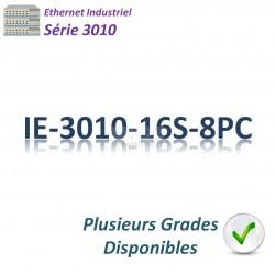 Cisco Industrial 3010 Switch 8x 10/100_16MSFP _2SFPcombo_PoE