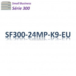 Small Business SF300 Switch 24x 10/100_2SFP combo_2G_ PoE+(375w)