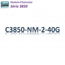 Cisco 3850 Module 2x 40G SFP+