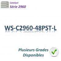 Catalyst 2960 Switch 48x10/100_2SFPcombo_ PoE(370w)_LAN Base