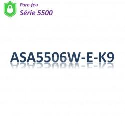 Cisco 5500 Pare-feu 8x 1GBase-T_50G mSata_Security Plus Licence