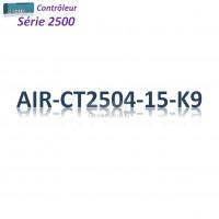 Cisco 2500 Contrôleur Filaire 4x 1GBase-T_15MAP