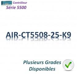 Cisco 5500 Contrôleur Filaire 1GBase-T_8SFP_25MAP