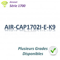 Aironet 1700 Borne Wifi Controller-based_2x 1G_Antennes Int