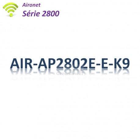 Aironet 2800 Borne Wifi Controller-based_2x 1G_Antenne Ext