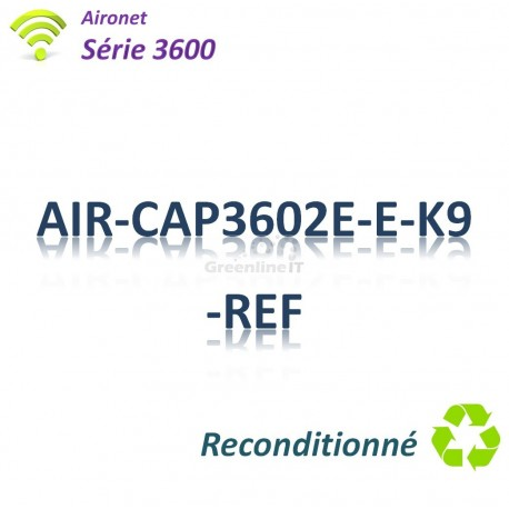 Aironet 3600 Refurbished Borne Wifi Controller-based _1G_Antenne Ext