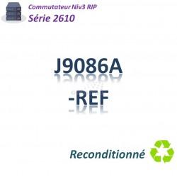 HPE/Aruba 2610 Refurbished Switch 24x 10/100_2G _2SFP_ PoE(126w)