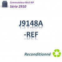 HPE/Aruba 2910 Refurbished Switch 48G_4SFPcombo _PoE+(382w)_Slot