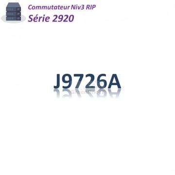 Aruba Switch série 2920_ 20 port GE_4x SFP combo_2Slot