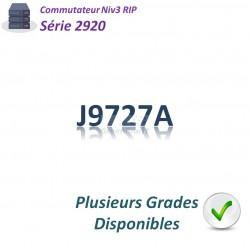 HPE/Aruba 2920 Switch 24G_4SFP_PoE+_370w_2slots