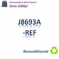 HPE/Aruba 3500 Refurbished Switch 48G_4SFP_PoE(398w)_1slot