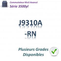 HPE/Aruba 3500 Renew Switch 24G_4SFP_PoE+(398w)_1slot