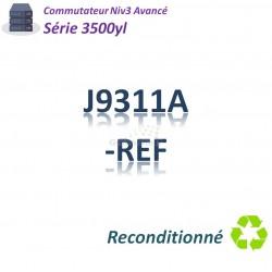 HPE/Aruba 3500 Refurbished Switch 48G_4SFP_PoE+(398w)_1slot