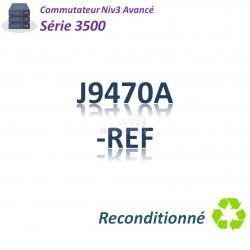 HPE/Aruba 3500 Refurbished Switch 20x 10/100_4SFP combo