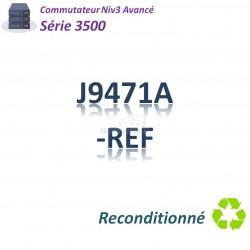 HPE/Aruba 3500 Refurbished Switch 20x 10/100_4SFP combo_PoE(398w)