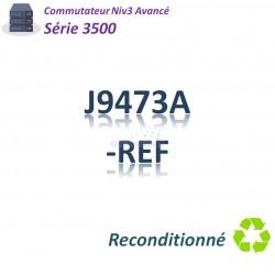 HPE/Aruba 3500 Refurbished Switch 44x 10/100_4SFP combo_PoE(398w)
