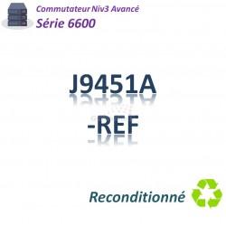 HPE/Aruba 6600 Refurbished Switch 48G_4SFP