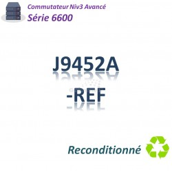HPE/Aruba 6600 Refurbished Switch 48G_4SFP+